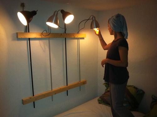 nr37 : slaapkamer lamp